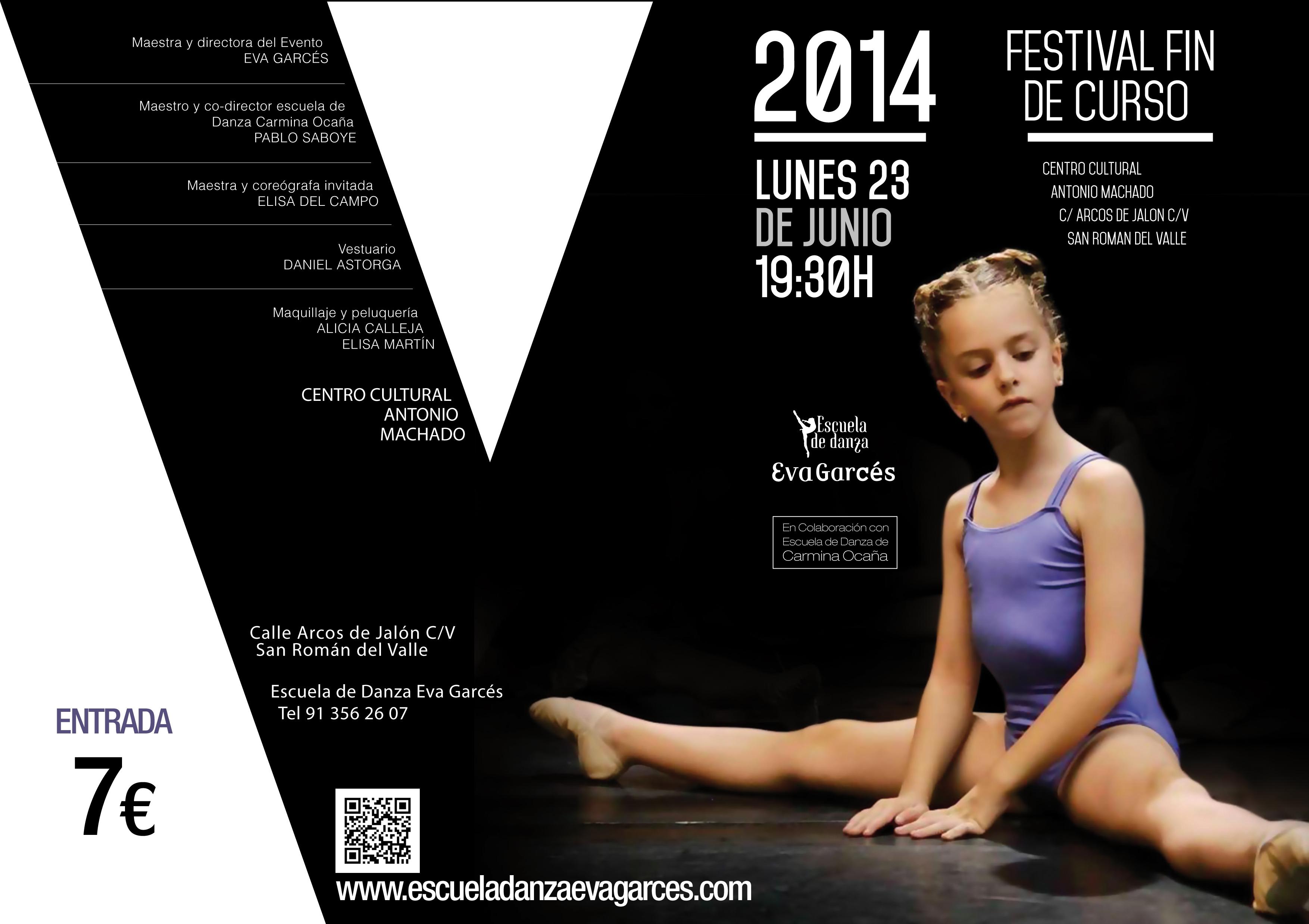 Portada Programa Fin de Curso 2014